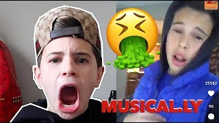 reacting to musicallys