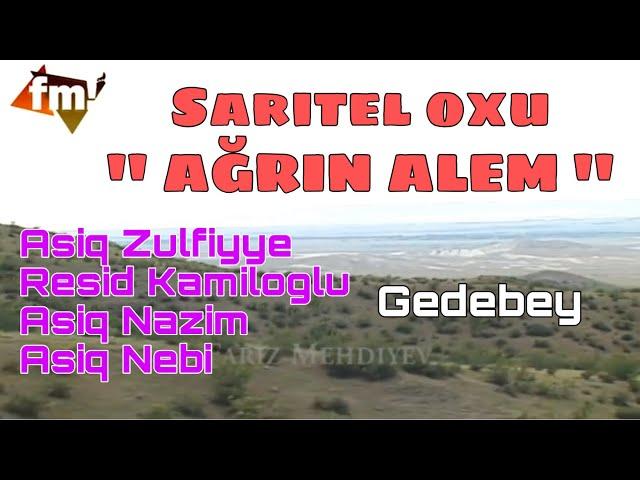 Saritel oxu ağrın alem - Asiq Zulfiyye & Resid Kamiloglu (Fariz Mehdiyev in toyu)