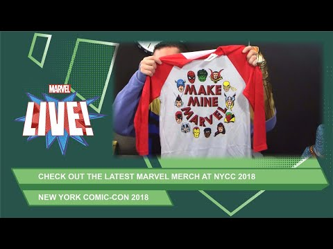 Check out the coolest Marvel merch at NYCC 2018!