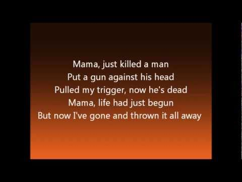 We Will Rock You Musical: Bohemian Rhapsody Lyrics