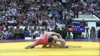 Чемпионат России 2012 Отарсултанов -  Лебедев