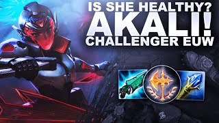 IS AKALI HEALTHY FOR LEAGUE? Spectating Challenger EUW! | League of Legends
