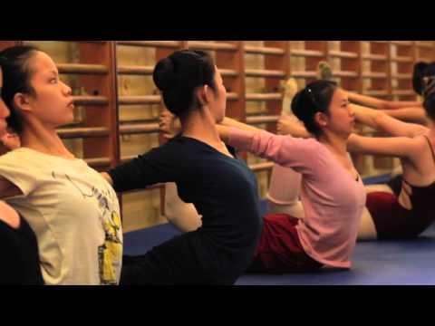 A trip to Bolshoi Ballet Academy