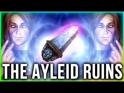 Beyond Skyrim Bruma Gameplay - Exploring Ayleid Ruins!
