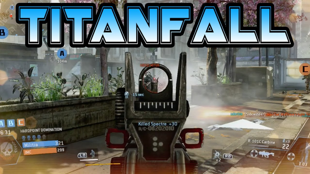 titanfall multiplayer gameplay on xbox one titanfall