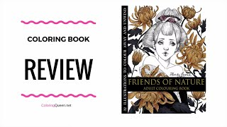 Download Mp3 Friends Of Nature Coloring Book Review