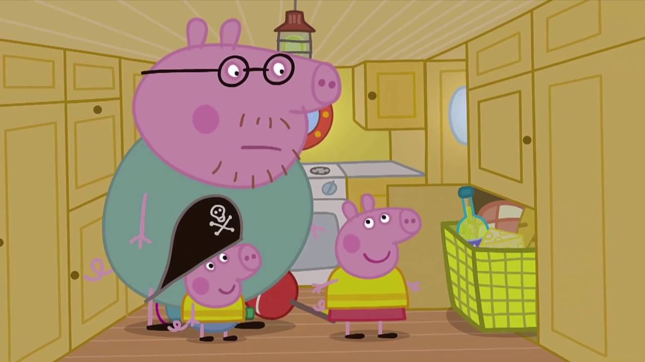 Peppa Pig - Captain Daddy Pig (46 episode / 2 season) [HD]