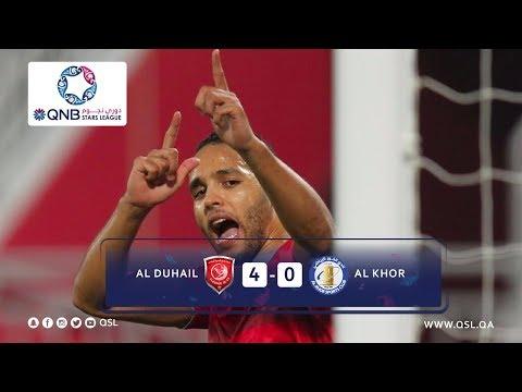 Duhail SC 4 - 0 Al Khor