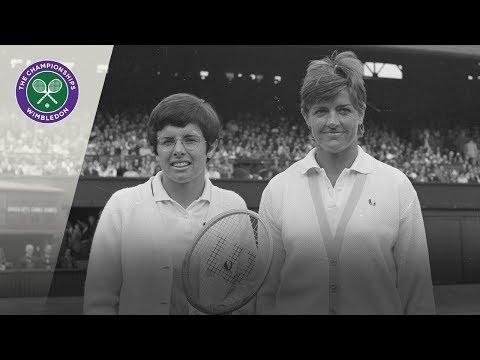 Billie Jean King vs Margaret Court: Wimbledon Final 1970 (Extended Highlights)