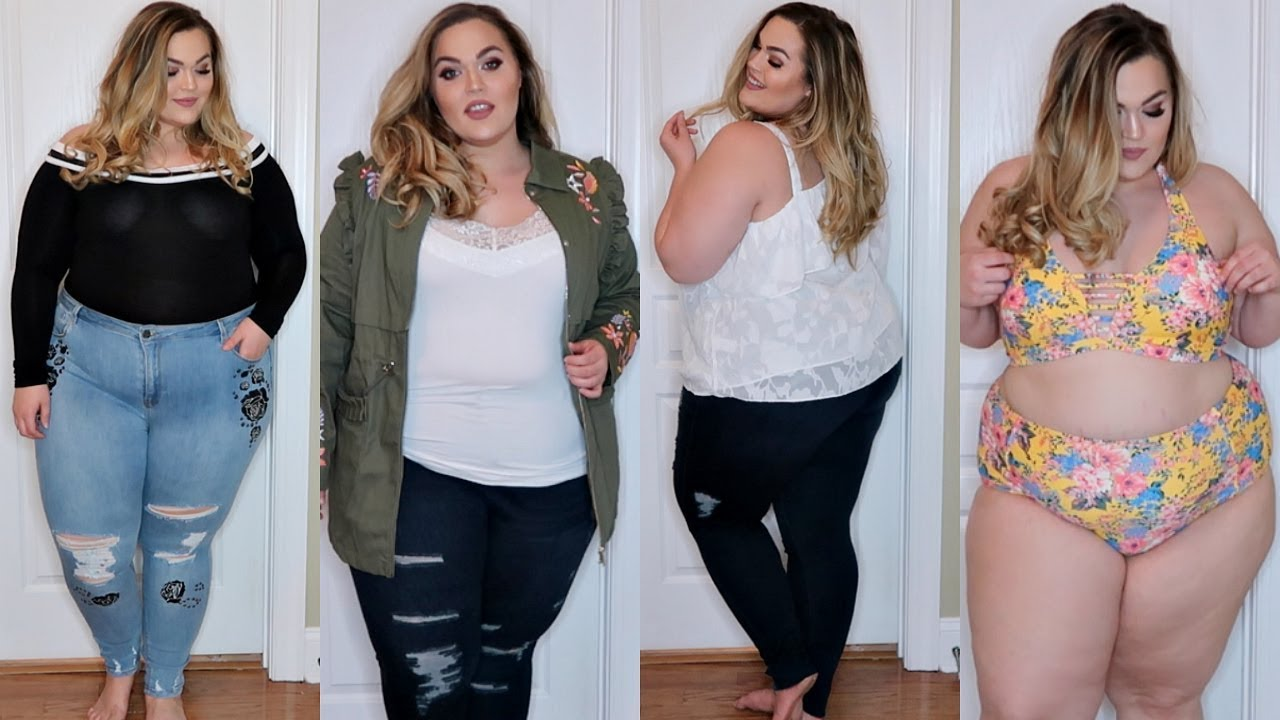 5b825ceb54a Plus Size Try On Haul ♡ Spring 2018 Ft. Simply Be USA - YouTube