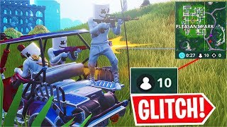The Game STARTED w/ ONLY 10 PLAYERS... Server Glitch! (Fortnite)