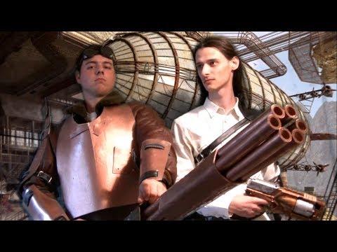 Костюм стимпанк стрелка ( steampunk gunner) / CausePlay #2
