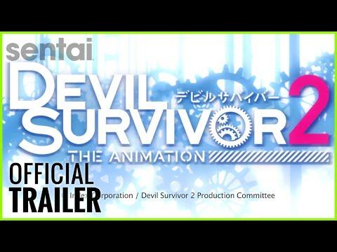 Devil Survivor 2: The Animation Official Trailer