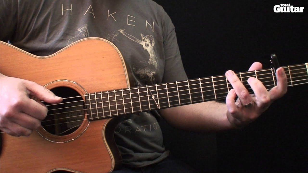 Guitar Lesson: Learn how to play Tracy Chapman - Fast Car ...