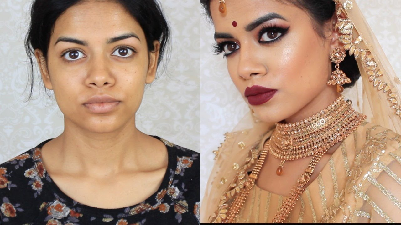 IndianBangladeshiSouth Asian Bridal Makeup YouTube