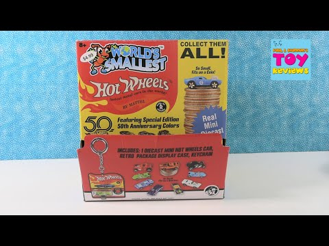 World's Smallest Hot Wheels Miniature Real Car Blind Bag Unboxing Review | PSToyReviews