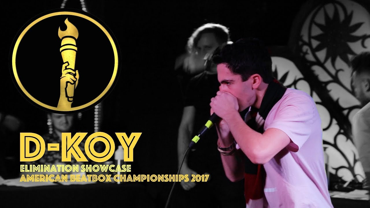 D-Koy / Elimination Showcase - American Beatbox Championships 2017