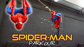 SPIDERMAN PARKOUR in Real Life | Flips & Kicks