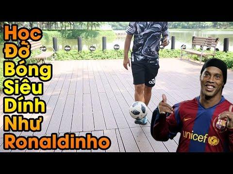 Đỗ Kim Phúc Hướng Dẫn Bóng Đá Kỹ Thuật Đỡ Bóng Siêu Dính Của Ronaldinho Từ Việt Nam