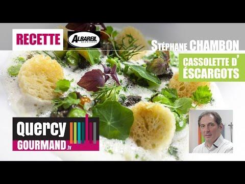Recette : Cassolette d'escargots – quercygourmand.tv