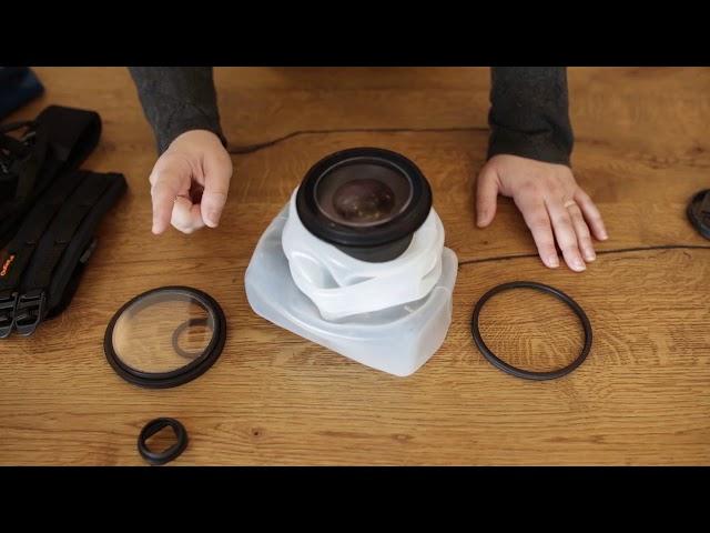 Comment installer la house OUTEX pour photo sous marine by Marie Elise Photgraphe   YouTube