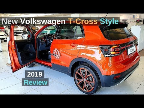 New Volkswagen T Cross Style 2019 Review Interior Exterior