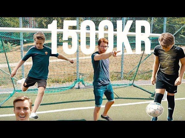 VAD GÖR FOLK FÖR 1500 KR???(FOTBOLL-EDITION)