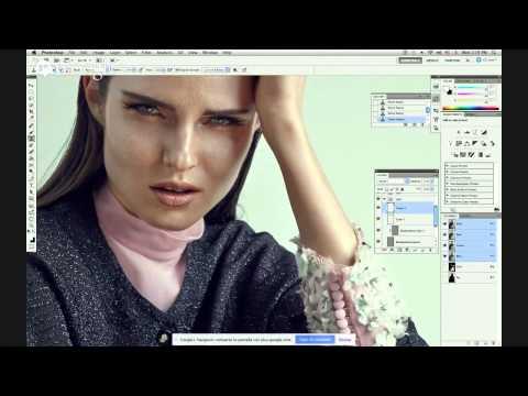 "Train to Create - Natalia Taffarel Retouching Series ""decomp"" Webinar"