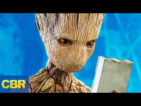 What Nobody Realized About Groot From Marvels Infinity War And Guardians Of The Galaxy