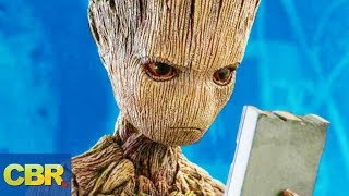 What Nobody Realized About Groot From Marvel's Infinity War And Guardians Of The Galaxy
