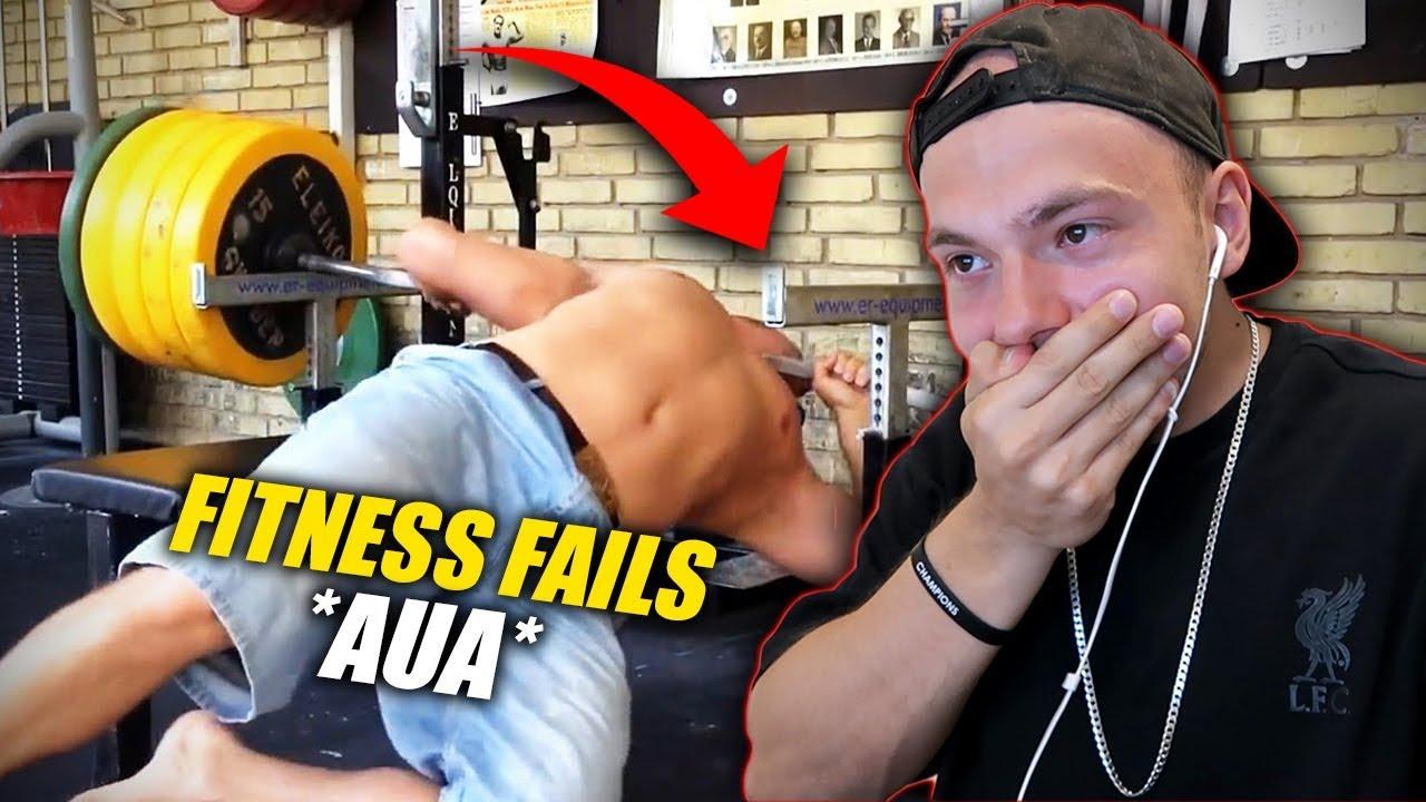 Versuche Nicht Zu Lachen Mit Heftigen Fitness Fails Aua