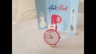 Новые часики Малены Swatch I Flik Flak I Disney frozen
