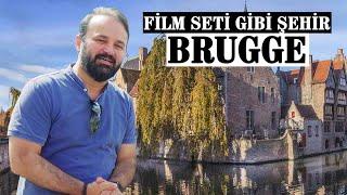 """Belçika'nın Turistik Kenti """"Brugge""""ü Gezdik!"""