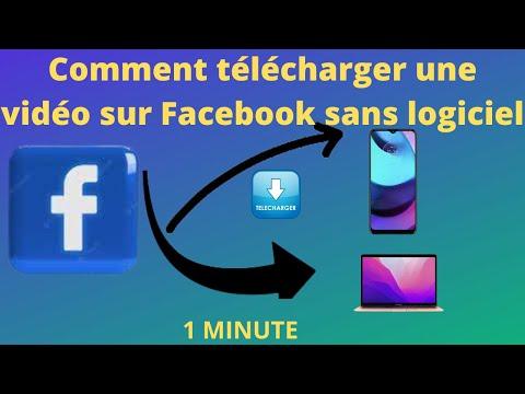Comment télécharger une vidéo Facebook sans logiciel a partir de votre PC ou téléphone en 2020