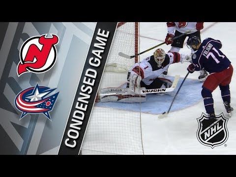 New Jersey Devils vs Columbus Blue Jackets – Feb. 10, 2018 | Game Highlights | NHL 2017/18. Обзор