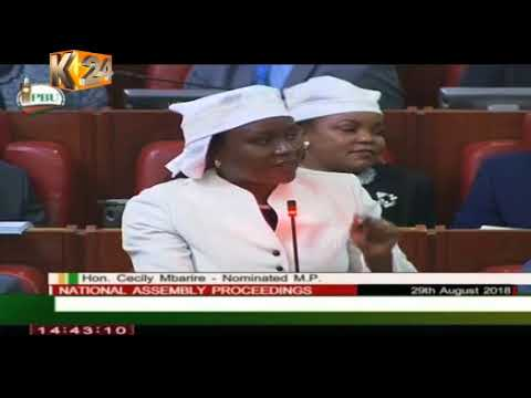 Drama as Women MPs wear white scarves in the house Mp3