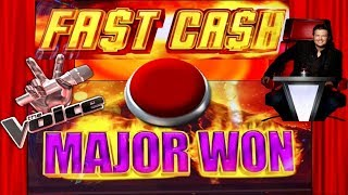 MAJOR WIN★BIG WIN SLOT MACHINE $$$ FAST CASH! THE VOICE BONUSES★CASINO GAMBLING!