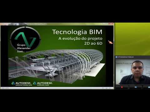 Tecnologia BIM - Palestra Alexander Justi - Evolução do 2D ao 6D