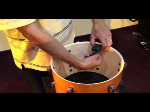 e-Drum Trigger Installation with Extreme Drums internal drum triggers