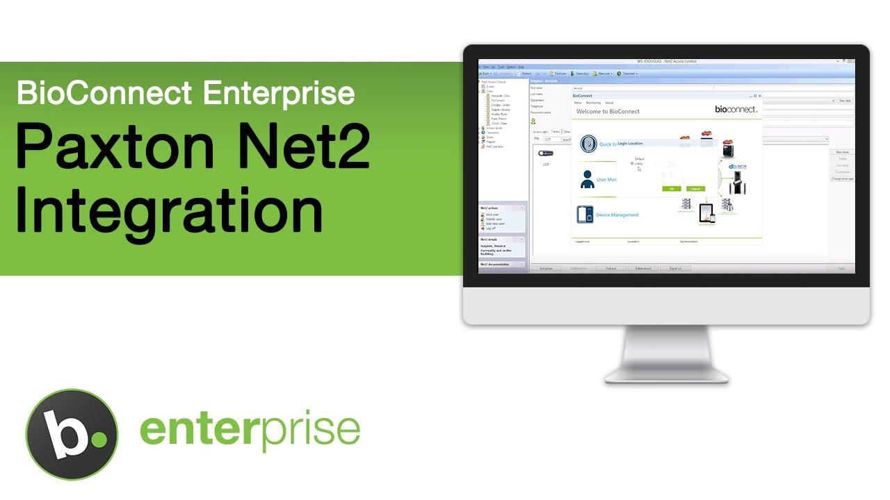 BioConnect Integration with Paxton Net2 - Suprema Fingerprint Reader