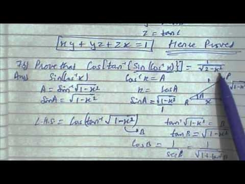 MP Board-class 12th-Mathematics-2011:part 1 - YouTube