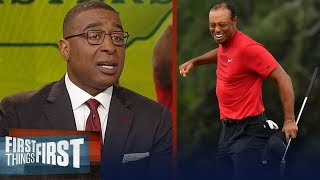 Tiger Woods wins 2019 Masters, Cris Carter reacts to this amazing feat | GOLF | FIRST THINGS FIRST