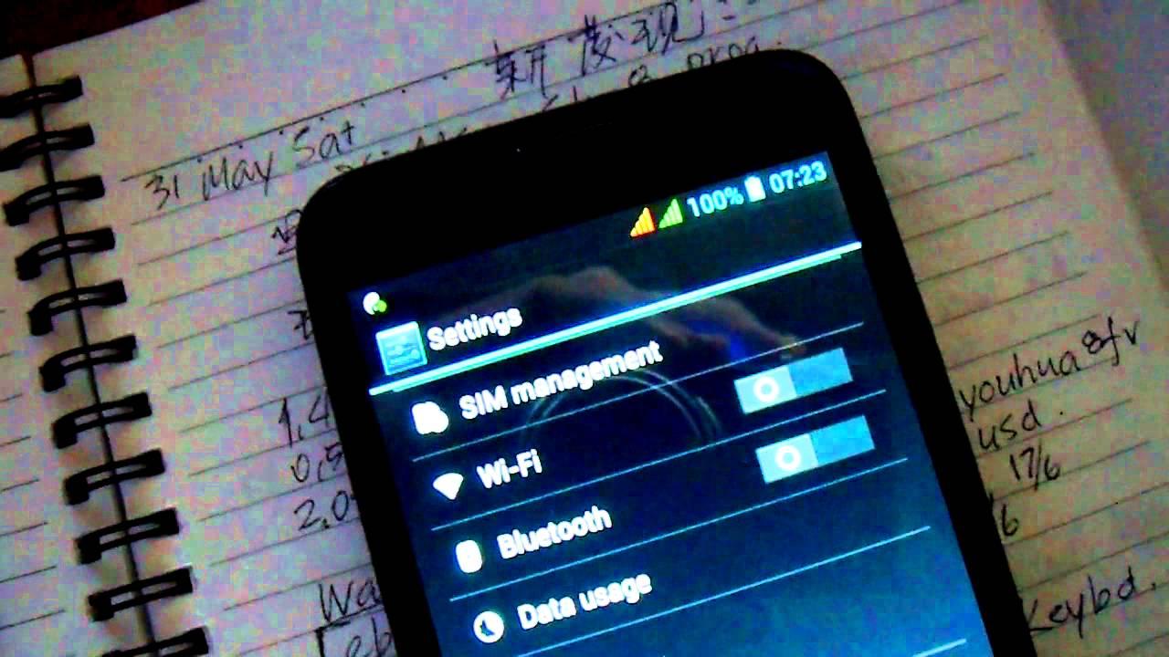 Lenovo A850s Wifi Problem