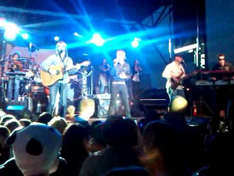 Gary Sinise and Lt Dan Band perform @ Fort...