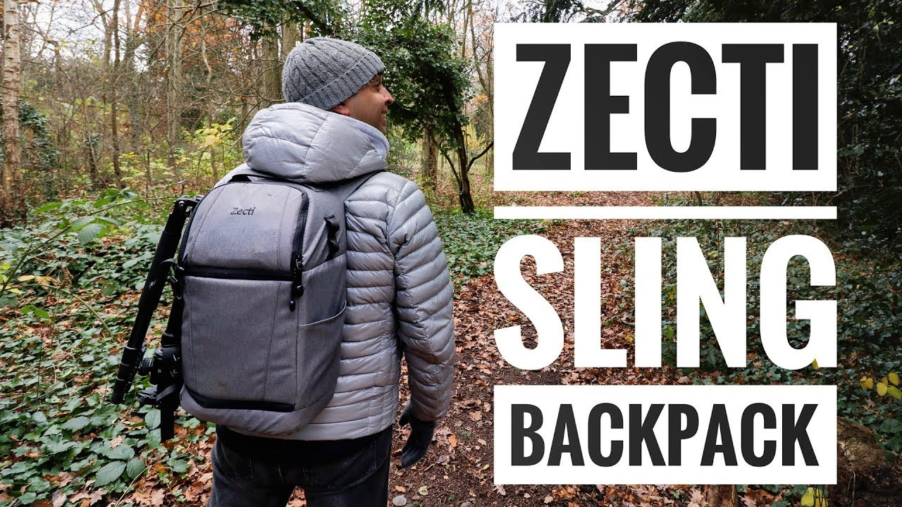 8a12bcf026d7 Zecti Sling Camera Backpack - YouTube