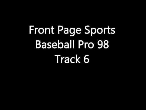 Front Page Sports: Baseball Pro 98 - Track 6