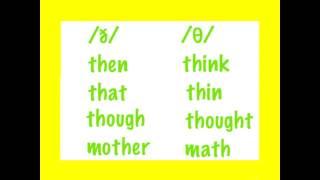 /ð/ And /θ/
