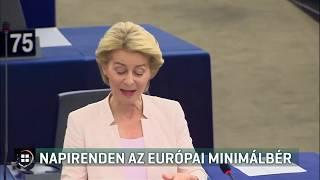 Napirenden az európai minimálbér 19-09-02