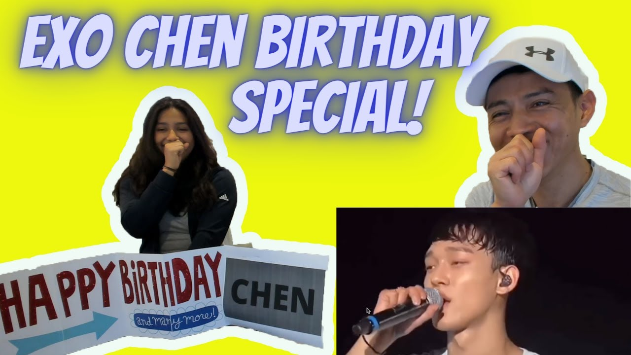 EXO 엑소 CHEN (Kim Jong-dae) Funny And Cute Moments | Special Birthday Reaction by Reactions Unlimited