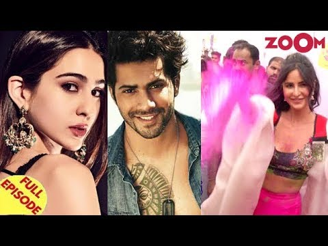 Sara to star opposite Varun in Coolie No 1 remake | Bollywood Stars at Zoom Holi Fest & more Mp3